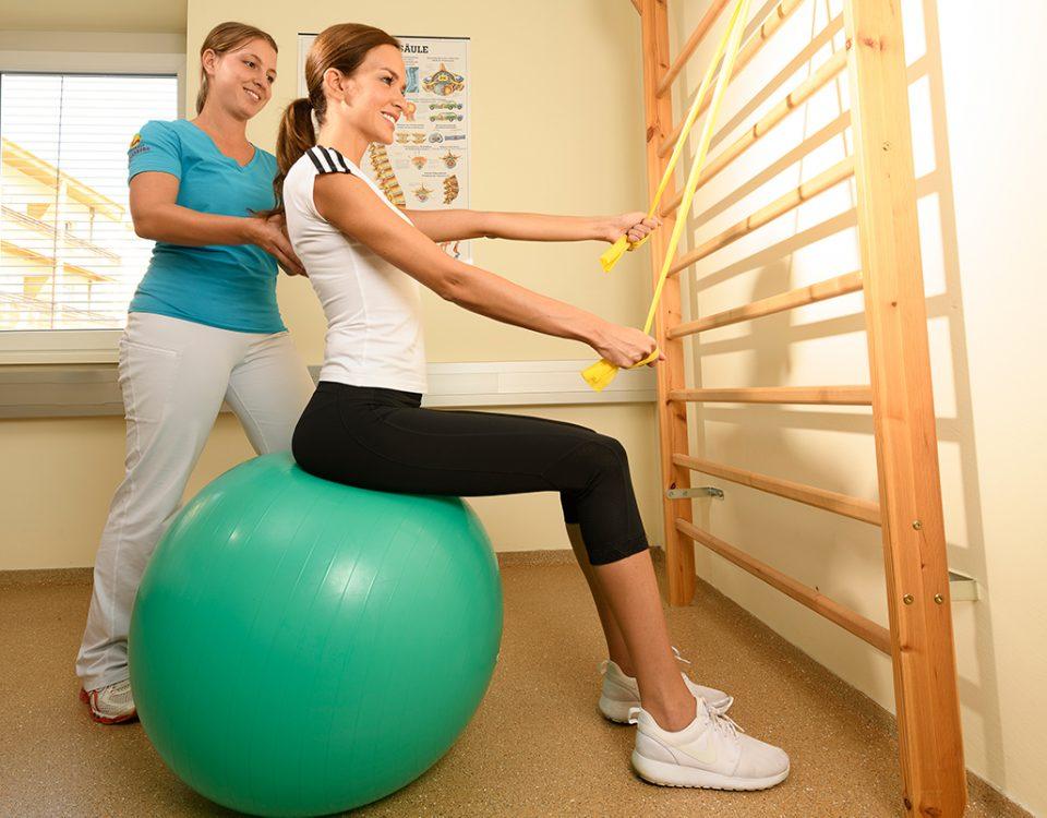 Physiotherapie im Kur- und Gesundheitshotel Heilmoorbad Schwanberg