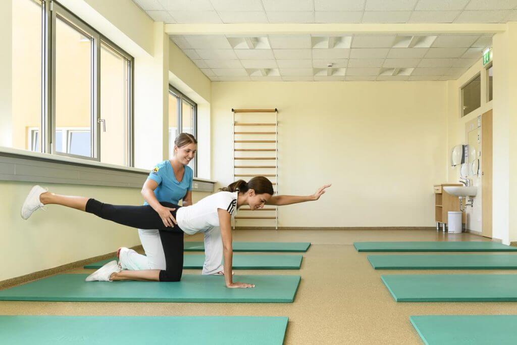 Heilgymnastik im Kur- und Gesundheitshotel Heilmoorbad Schwanberg