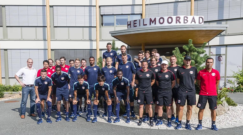 Red Bull Salzburg zu Gast im Heilmoorbad Schwanberg