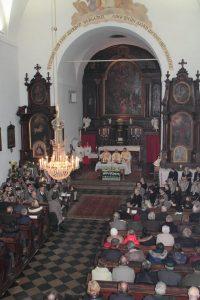Weihe der Klosterkirche durch Bischof Krautwaschl
