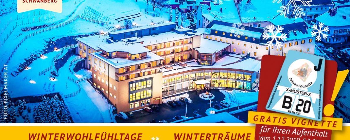 Urlaubsangebot für Erholungssuchende speziell für den Winter
