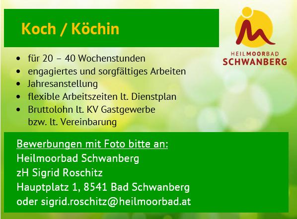 Stelleninserat_Koch_Köchin