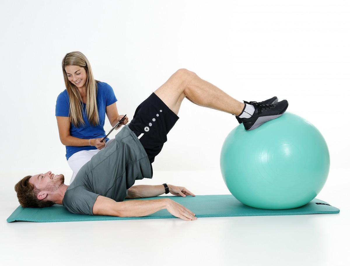 Personal Training mit Julia und Daniel